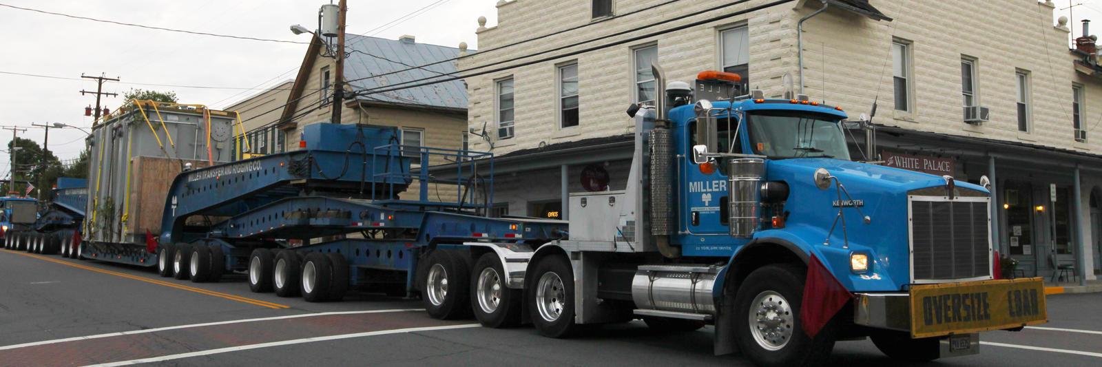 Heavy Haul Miller Transfer